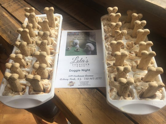 Your pup can enjoy free treats every Tuesday at Lola's in Asbury Park.