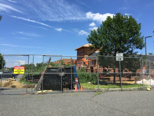 An urgent care facility is under construction in West Long Branch