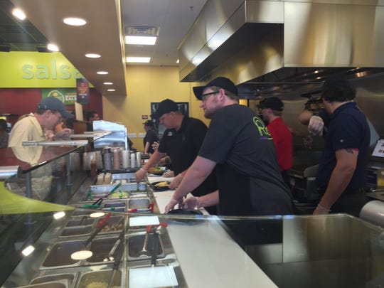 The new Moe's Southwest Grill location at Bannerman Crossings shopping center opens at 11 a.m. Thursday.