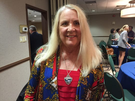 Billi Gosh of Brookfield is a superdelegate from Vermont at the Democratic National Convention.