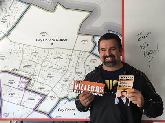 "John ""Tony"" Villegas is running for City Council District 6"