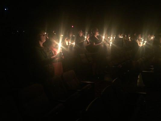 Vigil for slain Gilbert-area teens