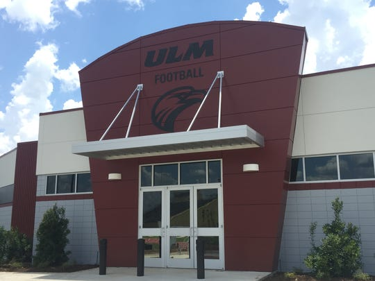 ULM's $4.1 million, 11,750-square foot field house