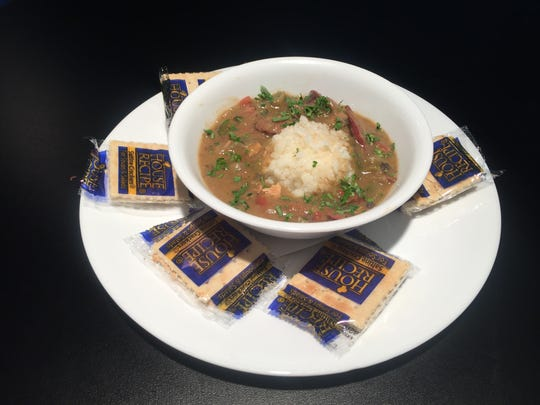 Gumbo, a New Orleans tradition, is made fresh daily