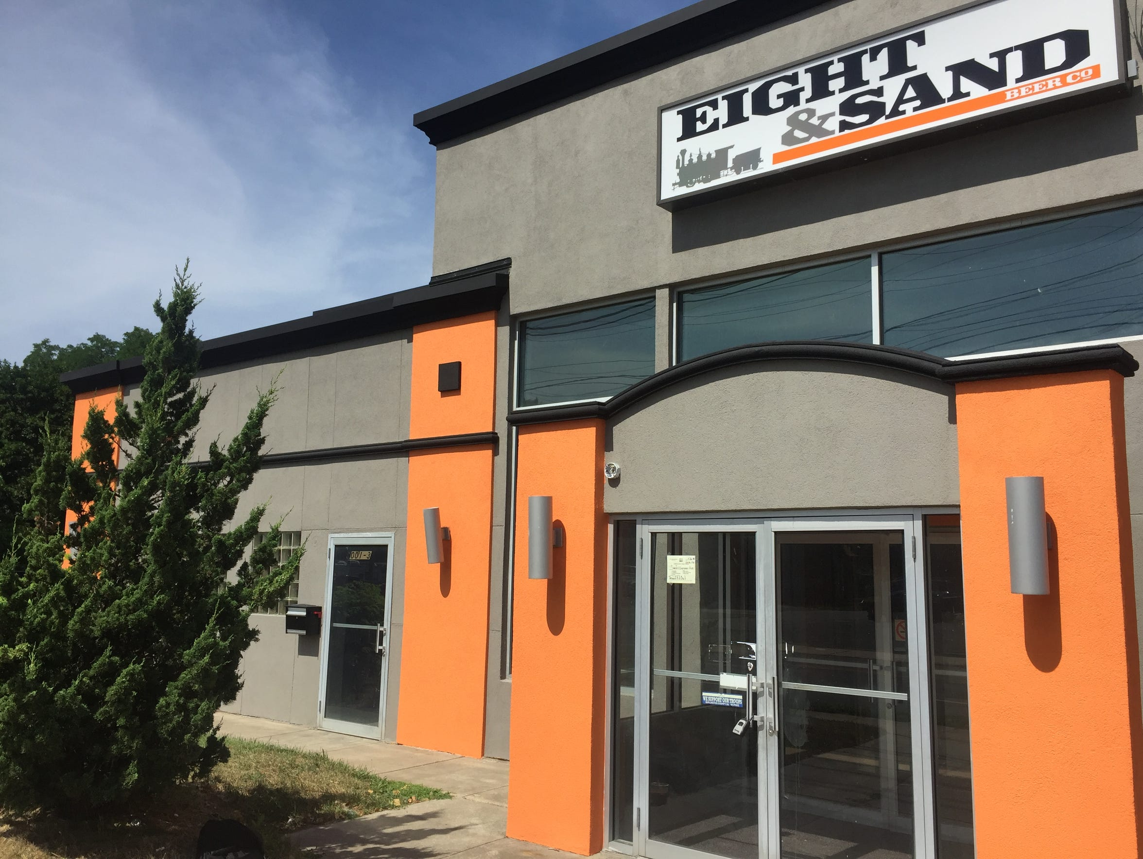Eight & Sand in Woodbury is located in a former pasta company headquarters in Woodbury. The brewery will be on site at LOT 323 this summer.