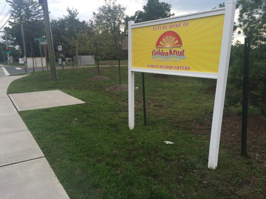 A sign on Route 303 in Orangetown advertises the future