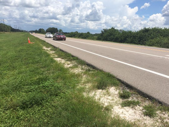 State Road 82 has been the scene of more than 200 crashes involving more than two dozen deaths in the past five years. It is being rebuilt, but questions have been raised about bicycle safety plans.