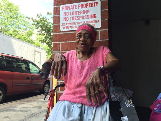 Rosalee Davis is one of the residents at the Richard Dixon Towers, an affordable housing complex for seniors built under the partnership with Grace Baptist Church and Mountco Construction and Development Corp.