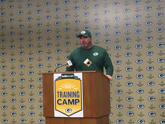 Mike McCarthy press conference