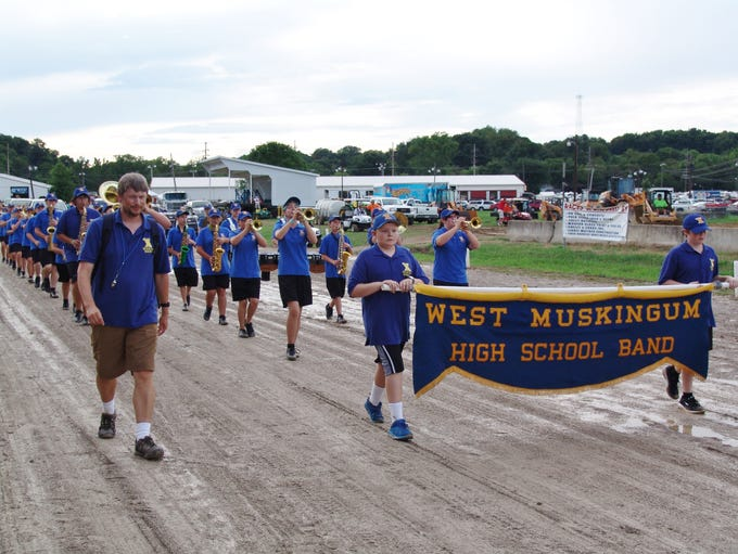 The 170th Muskingum County Blue Ribbon Fair opened