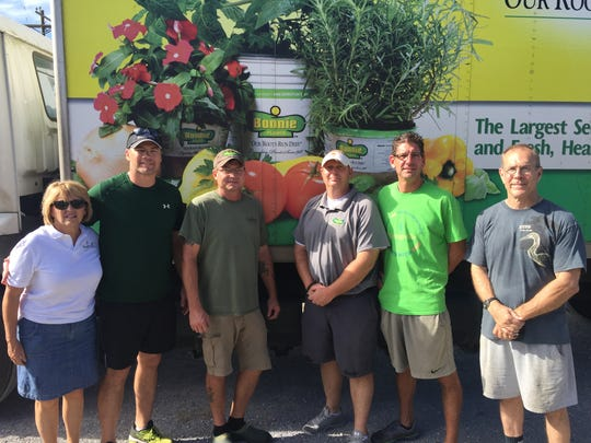 Youngsville community leaders accept 13,000 gallons