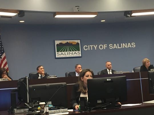 At Tuesday's Salinas City Council meeting
