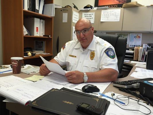 Millville police Chief Jody Farabella