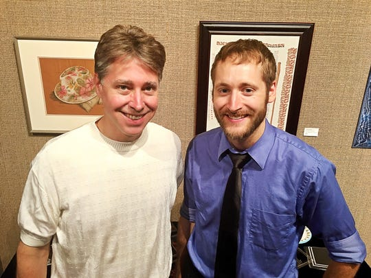"""Bourbon and Bullitt Andrew Herbertz talks to Joshua Reidford (Mr. Pictures) about his upcoming production """"Bullitt County"""" at the Arts Council of Southwestern Indiana. The investor's meeting included a bourbon tasting and a screening of """"Ostrich Land."""""""