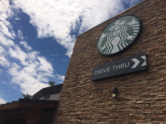 The Starbucks near Seventh Avenue and Camelback Road in Phoenix.