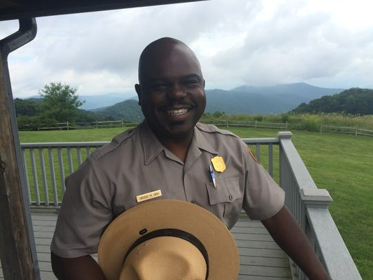 Smokies Superintendent Cassius Cash.