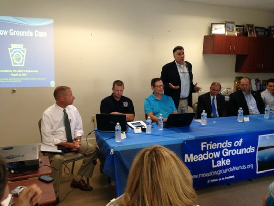 State officials met with Friends of Meadow Grounds