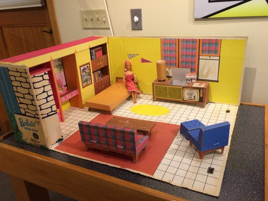 A Barbie Dream House is on display at the La Quinta Museum.