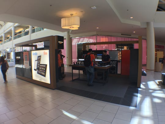 An Amazon Pop-Up store has opened at Freehold Raceway Mall.