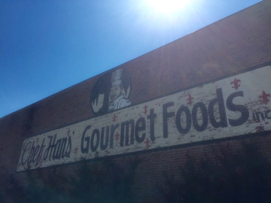The building at 310 Walnut Street will be refitted into 12 apartments. Chef Hans' Gourmet Foods Inc. will relocate.