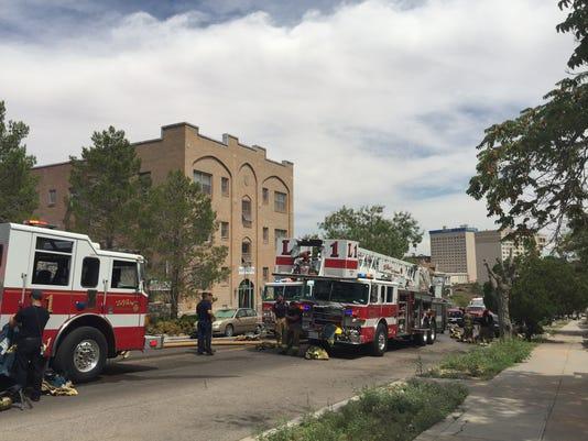 Ramey Apartments fire