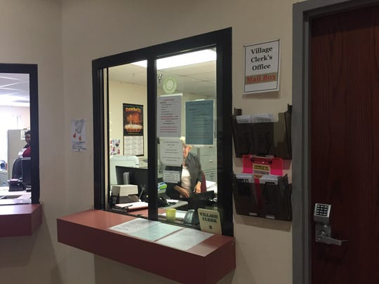 The newly appointed Spring Valley Deputy Clerk Sherry Scott declined to respond to a reporter's questions on Thursday, Aug. 25, 2016.