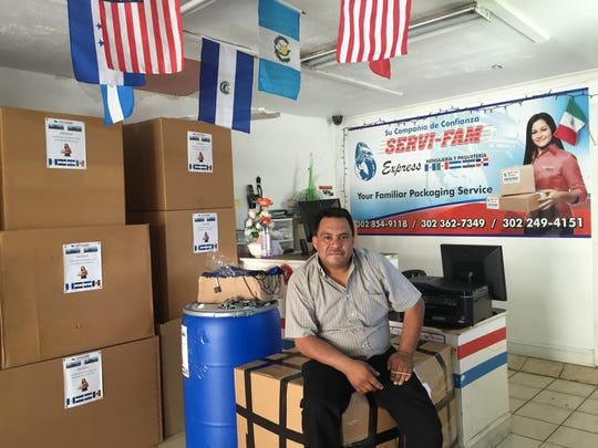 Nery Ramirez, owner of Servi-Fam Express, a Georgetown-based shipping company said his business took a dive when many immigrants where deported from the area five years ago.