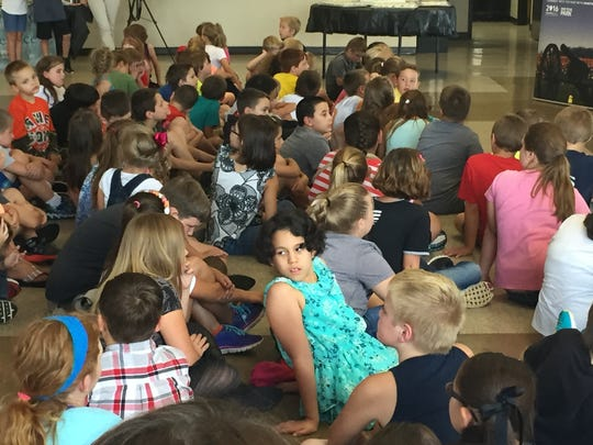 Dover Elementary fourth-graders helped celebrate 100 years of the National Park Service.