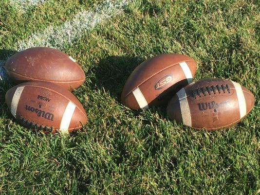 Stock footballs art