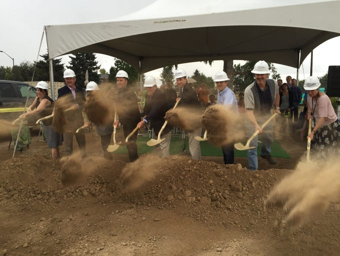 Fort Collins officials formally break ground Monday