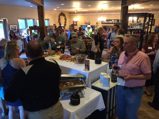 Nearly 150 people attended the United Way of Door County campaign kickoff event Wednesday at Simon Creek Winery.