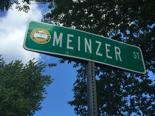 Meinzer Street in the Cliffwood section of Aberdeen,