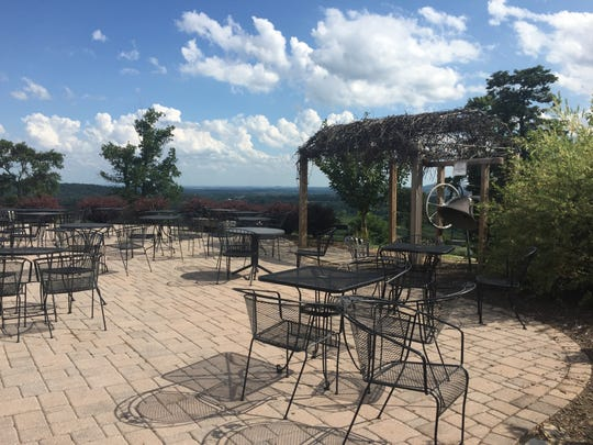 Hauser Estate and Winery overlooks scenic stretches of farmland and breathtaking beauty.
