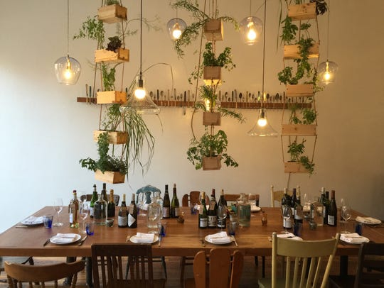 The setting is intimate and rustic at F.L.X. Table