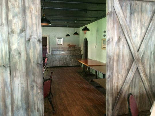 Part of the new interior at Buck-A-Neer Supper Club