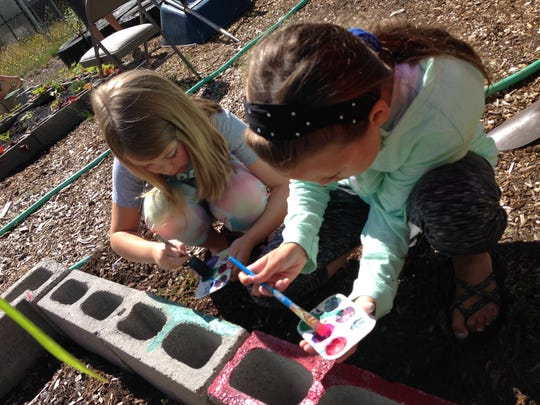 Students at Stayton Intermediate/Middle School toil