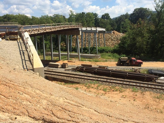 Commissioners will consider action Feb. 18 on the Enka Center bridge.