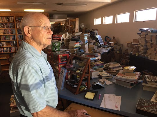 Jim Atkins opened Earl Plaza Books in 1975. His son