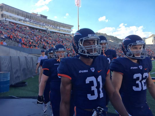 UTEP football players ready for the season opener game against rivals NMSU Saturday at the Sun Bowl Stadium.