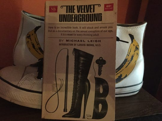 "The book ""The Velvet Underground"" by former Pensacola News  Journal columnist Michael Leigh."