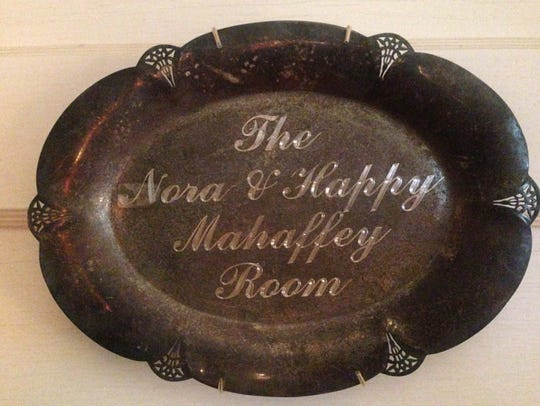 Nora and Happy Mahaffey were the owners of Mahaffey