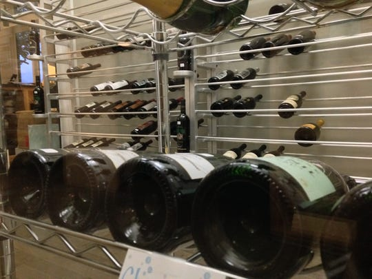 There's always a new selection behind the glass in Aragon Wine Market's cold room, especially Champagne.