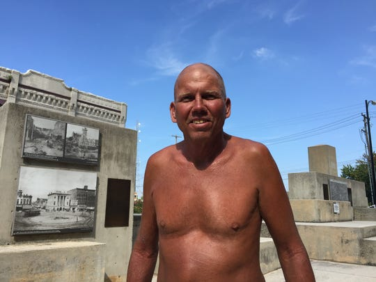 Virgil Cole, 52, said he was shipped out to the Miller