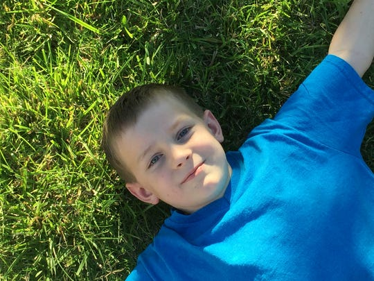 Nine-year-old George Stafford is at the head of a local advocacy effort for National Child Cancer Awareness Month.