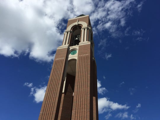 Ball State University's Shafer Tower houses 48 bells.