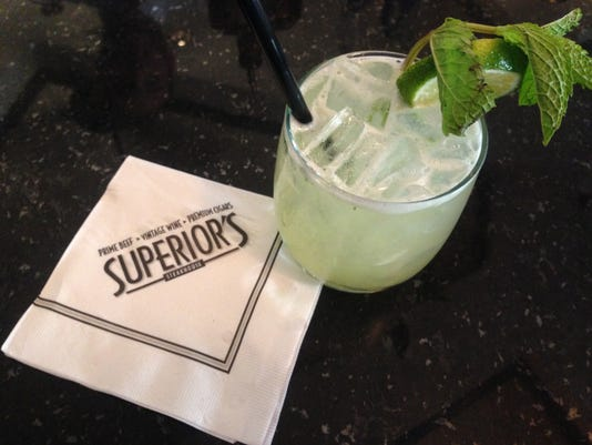 Superiors Steakhouse margarita-IMG-5425.JPG