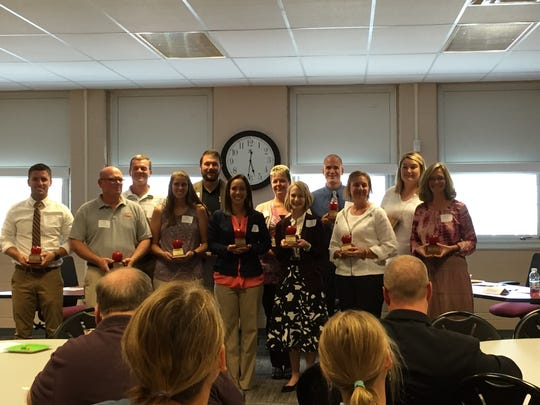 Teachers from 12 school districts across Licking County