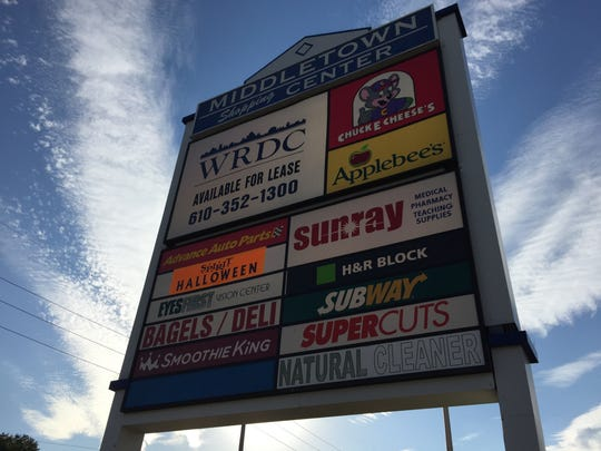 The Middletown Shopping Center on Route 35 is getting a makeover.