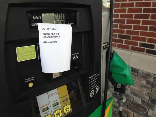 At 7:30 a.m. Friday, Sept. 16, the Mapco on Madison Street in Clarksville was out of gas.