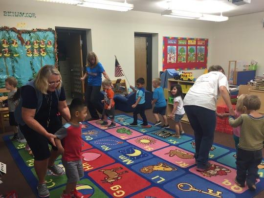 Emmitt Smith Preschool principal Julie Volpato said